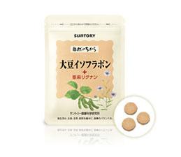 大豆イソフラボン+亜麻リグナン